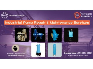 Pump Suppliers Coimbatore - Industrial Pump Suppliers - tftpumps