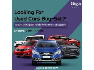 Buy Used Cars in Bangalore - GigaCars