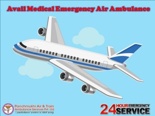 Air Ambulance Service in Patna Available with Initial Healthcare Support