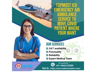 Absolute Life Support Air Ambulance Services in Delhi by Medivic