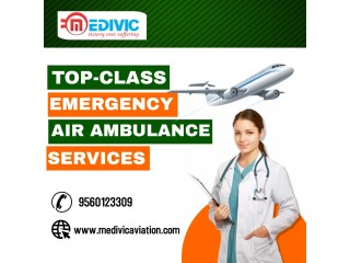 Avail Most Trusted Air Ambulance Services in Hyderabad by Medivic