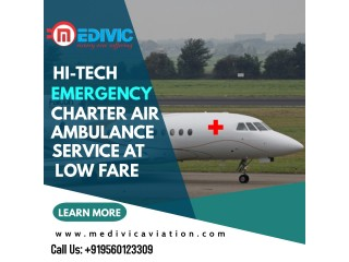 Best Medical Rescue by Medivic Air Ambulance Services in Patna
