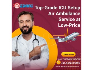 Get Most Reliable Medivic Air Ambulance Services in Pune with ICU Care